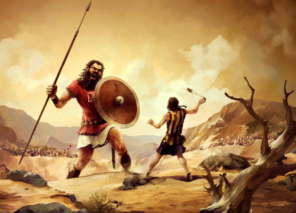 A Lesson from David and Goliath